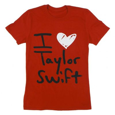I Heart Taylor Swift Red Tee